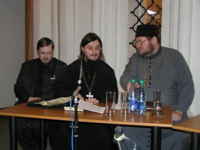 Држање библијских беседа у парохији – Свештеномученик Данил Сисојев