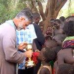 Pričešće pravoslavnog plemena Masai, jug Kenije