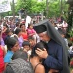 Блаженопочивши архимандрит Андрес Жирон, Апостол Православља у Гватемали