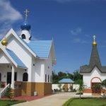 Uspenjski pravoslavni manastir, Ratčaburi, Tajland