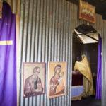 Иконостас храма у Кенији