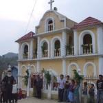Архимандрит Андреј Вујисић са православним Мајама, Гватемала